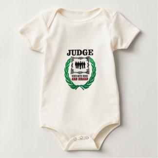Body Para Bebé juez cuando usted oye ambos lados