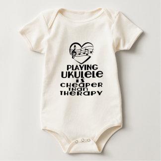 Body Para Bebé Jugar el Ukulele es más barato que terapia