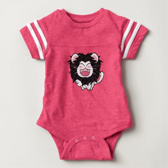 Body Para Bebé Kitty Lion
