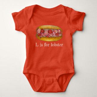 Body Para Bebé L está para la comida del rollo del bocadillo de