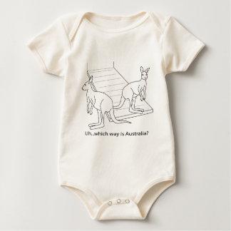 Body Para Bebé La arca Australia de Noah del canguro