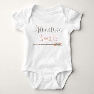 Body Para Bebé La aventura aguarda el equipo del bebé