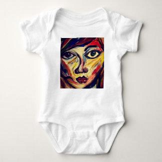 Body Para Bebé La cara de la mujer abstracta