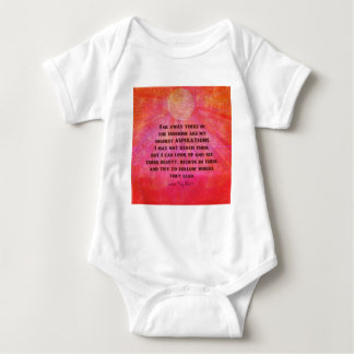 Body Para Bebé La cita más alta Louisa de las aspiraciones puede
