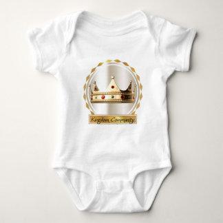 Body Para Bebé La corona 2 de la comunidad del reino