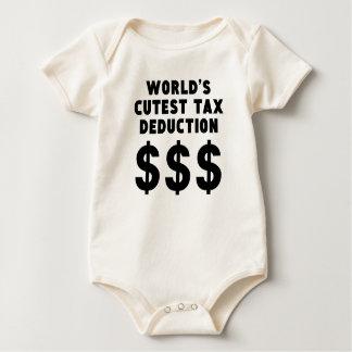 Body Para Bebé La deducción fiscal más linda del mundo