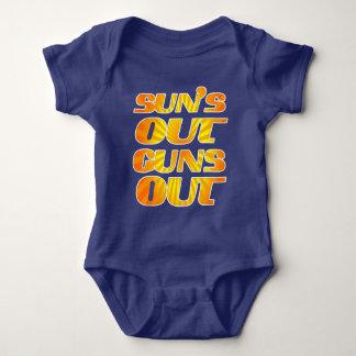 Body Para Bebé La diversión fresca asolea hacia fuera los armas