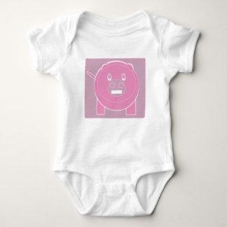 Body Para Bebé La forma hizo el cerdo