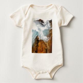 Body Para Bebé La garganta de Soteska Vintgar en otoño