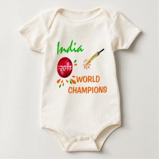 Body Para Bebé La India 2011 enredaderas de los campeones del