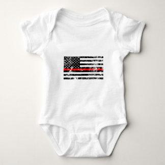 Body Para Bebé La línea roja fina