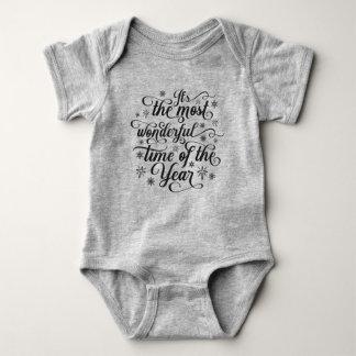 Body Para Bebé La mayoría de la hora maravillosa del mono del