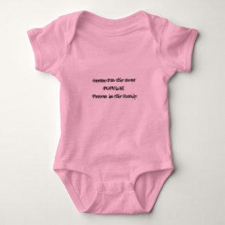 Body Para Bebé La mayoría del rosa popular Onesy de la persona