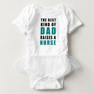 Body Para Bebé la mejor clase de papá cría a una enfermera