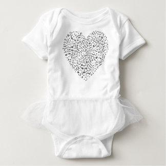 Body Para Bebé La música observa el corazón