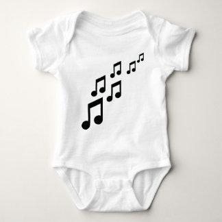 Body Para Bebé la música observa el icono