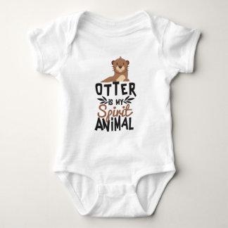 Body Para Bebé La nutria agradable es mi estampado de animales
