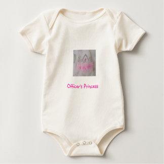 Body Para Bebé La princesa del oficial