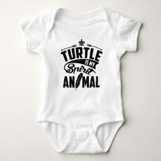 Body Para Bebé La tortuga es mi animal del alcohol
