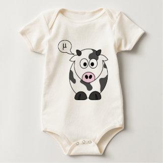 Body Para Bebé La vaca dice el μ