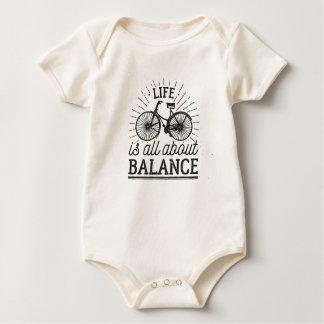 Body Para Bebé La vida está todo sobre mono de la cita el   de la