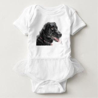 Body Para Bebé Labrador negro