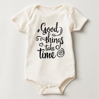 Body Para Bebé Las buenas cosas inspiradoras toman el mono del
