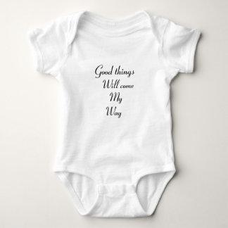 Body Para Bebé Las buenas cosas vendrán mi manera