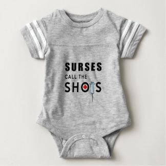 Body Para Bebé Las enfermeras llaman los tiros