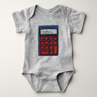 Body Para Bebé Las matemáticas del empollón de la matemáticas de