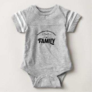 Body Para Bebé las mejores cosas de la vida son familia