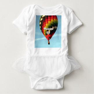 Body Para Bebé Las mujeres vuelan: globo del aire caliente