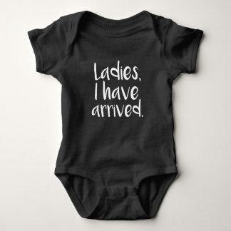 Body Para Bebé Las señoras, he llegado