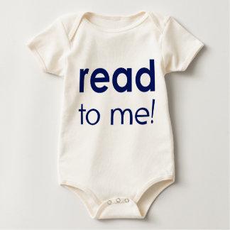 Body Para Bebé Leído a mí