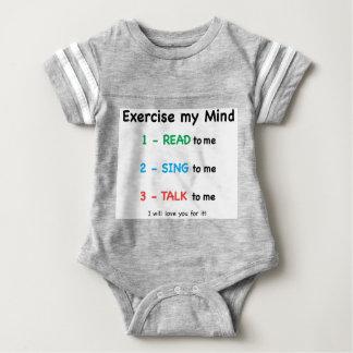 Body Para Bebé LEÍDO - ejercite mi mente