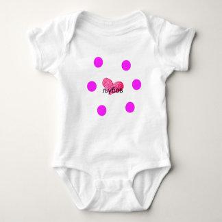 Body Para Bebé Lengua macedónica del diseño del amor