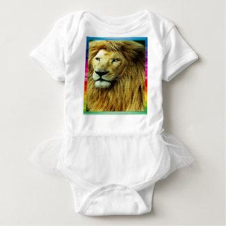 Body Para Bebé León con la frontera del arco iris