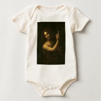Body Para Bebé Leonardo da Vinci - pintura de San Juan Bautista
