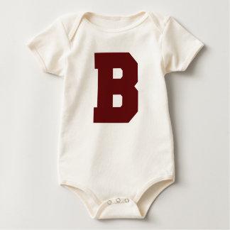 Body Para Bebé Letra inicial A
