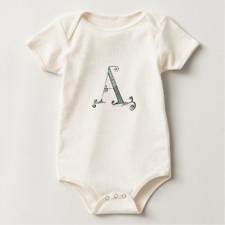 Body Para Bebé Letra mágica A del diseño tony de los fernandes