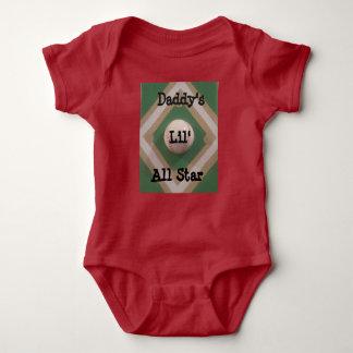 Body Para Bebé Lil All Star del papá