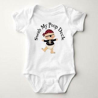 Body Para Bebé Limpie mi cubierta de impulso