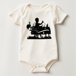 Body Para Bebé Little Boy en silueta del Firetruck