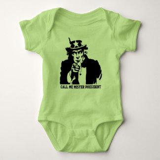 Body Para Bebé Llámeme presidente