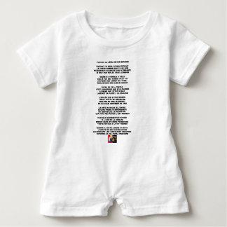 Body Para Bebé Llevando el Luto de mi Infancia - Poema