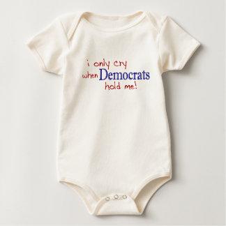 Body Para Bebé Lloro solamente cuando Demócratas me detienen
