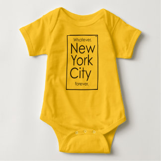 Body Para Bebé Lo que, New York City para siempre