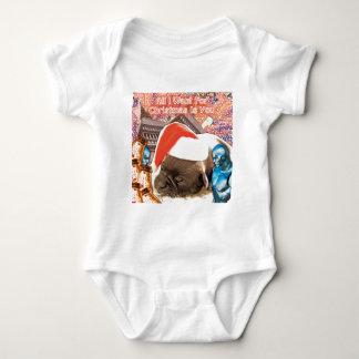 Body Para Bebé Lo único que quiero para el navidad es usted