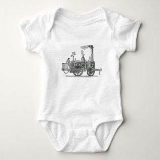 Body Para Bebé Locomotora de vapor temprana