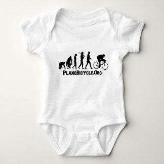 Body Para Bebé Logotipo de ciclo de PlanoBicycle del estilo de la
